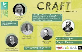 Craft in Architecture